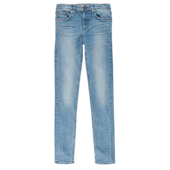Vêtements Garçon Jeans slim Teddy Smith FLASH Bleu Clair