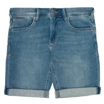 Vêtements Garçon Shorts / Bermudas Teddy Smith SCOTTY 3 Bleu
