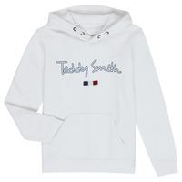 Vêtements Garçon Sweats Teddy Smith SEVEN Blanc
