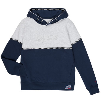 Vêtements Garçon Sweats Teddy Smith SLOWY Marine / Gris