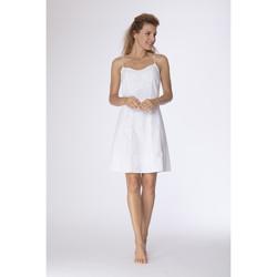 Vêtements Femme Robes courtes La Cotonniere ROBE PENELOPE Blanc