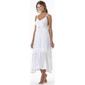 Vêtements Femme Robes longues La Cotonniere ROBE ADELIE Blanc