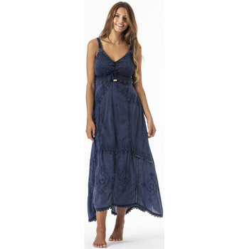 Vêtements Femme Robes longues La Cotonniere ROBE ADELIE Bleu
