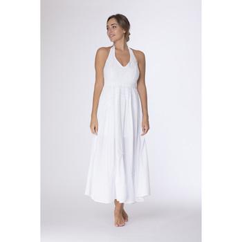 Vêtements Femme Robes longues La Cotonniere ROBE MYRIAM Blanc