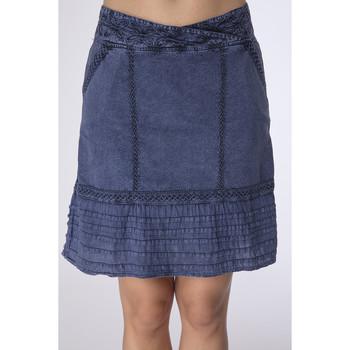 Vêtements Femme Jupes La Cotonniere JUPE ADRIANA Bleu