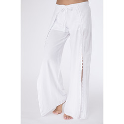 Vêtements Femme Pantalons La Cotonniere PANTALON JULIETTE Blanc