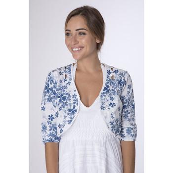 Vêtements Femme Gilets / Cardigans La Cotonniere BOLERO DAISY Multicolore