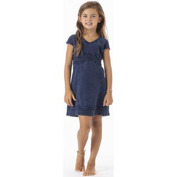 Vêtements Fille Robes courtes La Cotonniere ROBE TRIANA Bleu