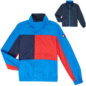 Vêtements Garçon Blousons Tommy Hilfiger  Bleu
