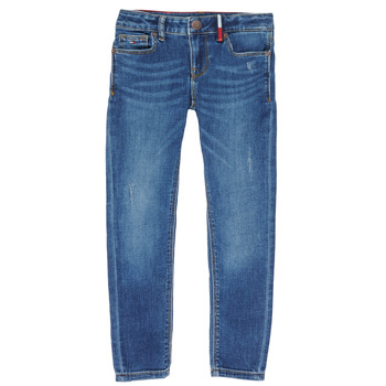 Vêtements Fille Jeans skinny Tommy Hilfiger KG0KG04814 Bleu