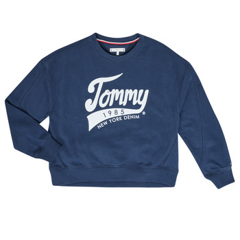 Vêtements Fille Sweats Tommy Hilfiger KG0KG04955 Marine