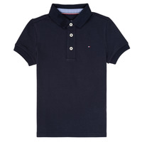 Vêtements Garçon Polos manches courtes Tommy Hilfiger KB0KB03975 Marine
