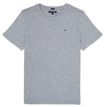 Vêtements Garçon T-shirts manches courtes Tommy Hilfiger SORELA Gris