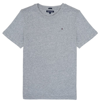 Vêtements Garçon T-shirts manches courtes Tommy Hilfiger KB0KB04140 Gris