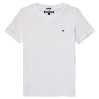 Vêtements Garçon T-shirts manches courtes Tommy Hilfiger KB0KB04140 Blanc