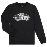 Vêtements Enfant Sweats Vans BY OTW CREW Noir