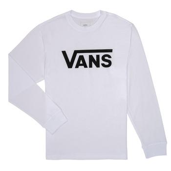 Vêtements Garçon T-shirts manches longues Vans BY VANS CLASSIC LS Blanc