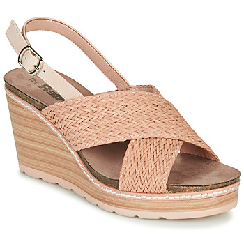 Chaussures Femme Sandales et Nu-pieds Refresh NANI Nude