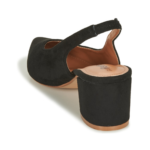 Refresh Mina Noir - Livraison Gratuite- Chaussures Escarpins Femme 3995 SYA78