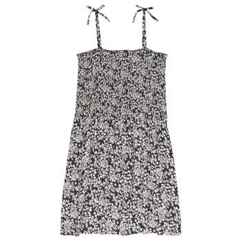 Vêtements Fille Robes courtes Le Temps des Cerises PUNTA Noir / Blanc