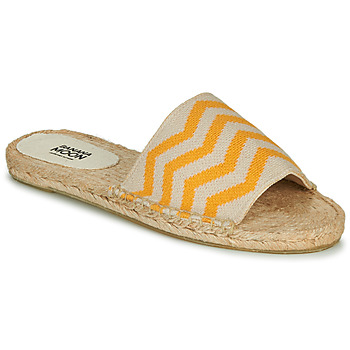 Chaussures Femme Mules Banana Moon MICHIGAN Jaune