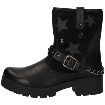 Chaussures Fille Low boots Asso AG-4004 NOIR