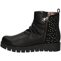 Chaussures Fille Low boots Asso AG-4401 NOIR