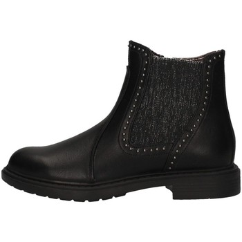 Chaussures Fille Low boots Asso AG-3407 NOIR