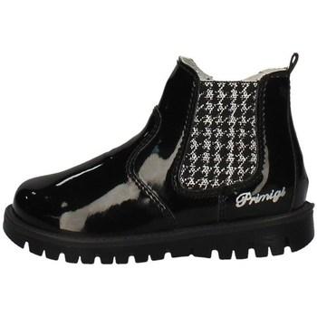 Chaussures Fille Low boots Primigi 43678/22 NOIR