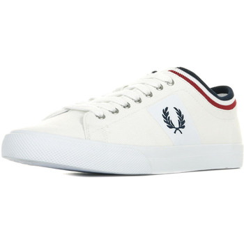 Chaussures Homme Baskets basses Fred Perry Underspin Tipped Cuff blanc
