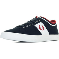 Chaussures Homme Baskets basses Fred Perry Underspin Tipped Cuff bleu