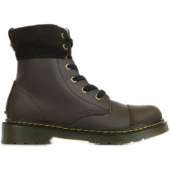 Chaussures Fille Boots Dr Martens Aimilita J marron