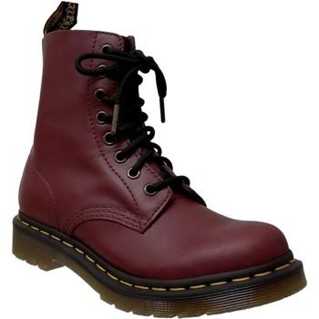 Chaussures Femme Boots Dr Martens 1460 pascal wanama Bordeaux cuir