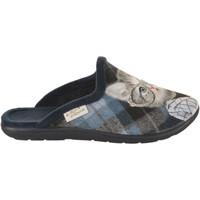 Chaussures Fille Chaussons La Maison De L'espadrille Pantoufles fille -  - Bleu - 28 BLEU