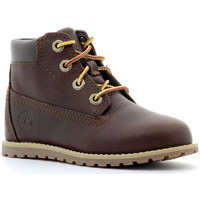 Chaussures Enfant Boots Timberland - 6-INCH BOOT POKEY PINE Marron