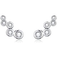 Montres & Bijoux Femme Boucles d'oreilles Blue Pearls CRY C2341 J Multicolore