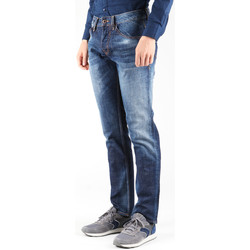 Vêtements Homme Jeans droit Guess Outlaw PF12 M23A68D0OD1 CONN granatowy