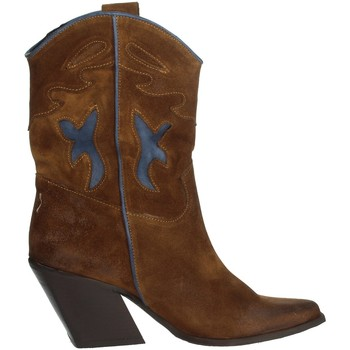 Chaussures Femme Boots Marlena 704 Marron cuir