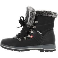 Chaussures Femme Bottes de neige Alpes Vertigo Kaipi noir mid l Noir
