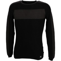 Vêtements Homme Pulls Paname Brothers Paname 017a blk anth pull Noir