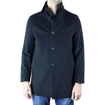 Vêtements Homme Manteaux Kebello Manteau en laine H Noir Noir
