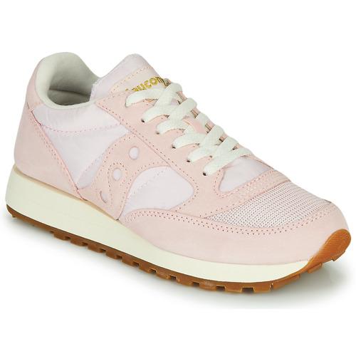 Chaussures Femme Baskets basses Saucony JAZZ VINTAGE SUEDE Rose
