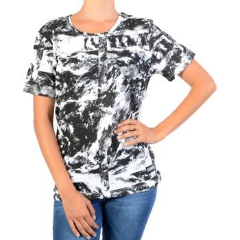Vêtements Femme T-shirts manches courtes Eleven Paris Print Gris