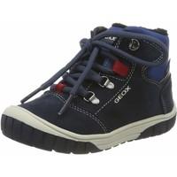 Chaussures Garçon Baskets montantes Geox Omar Boy WPF bleu