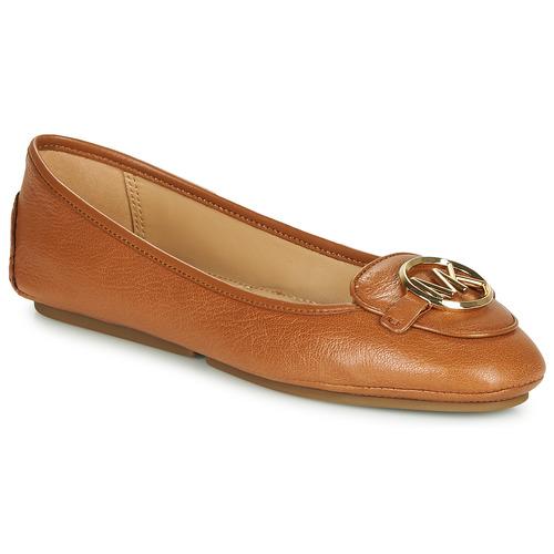 Chaussures Femme Ballerines / babies MICHAEL Michael Kors LILLIE Cognac