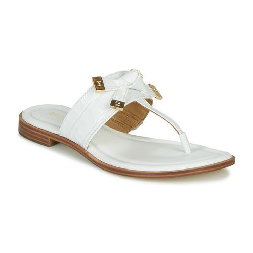 Chaussures Femme Tongs MICHAEL Michael Kors RIPLEY THONG Blanc