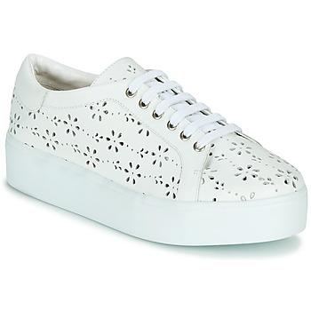 Chaussures Femme Baskets basses Cristofoli NALA Blanc