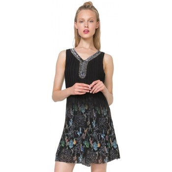 Vêtements Femme Robes courtes Desigual Robe Sophia Noir 71V2GR6 (sp) 38