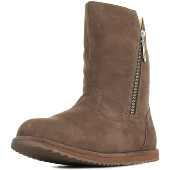 Chaussures Fille Bottes ville EMU Gravelly Teens marron