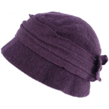 Accessoires textile Femme Chapeaux Léon Montane Chapeau Femme Laine Beret Toque Violet Hiver Mode Felicy Violet